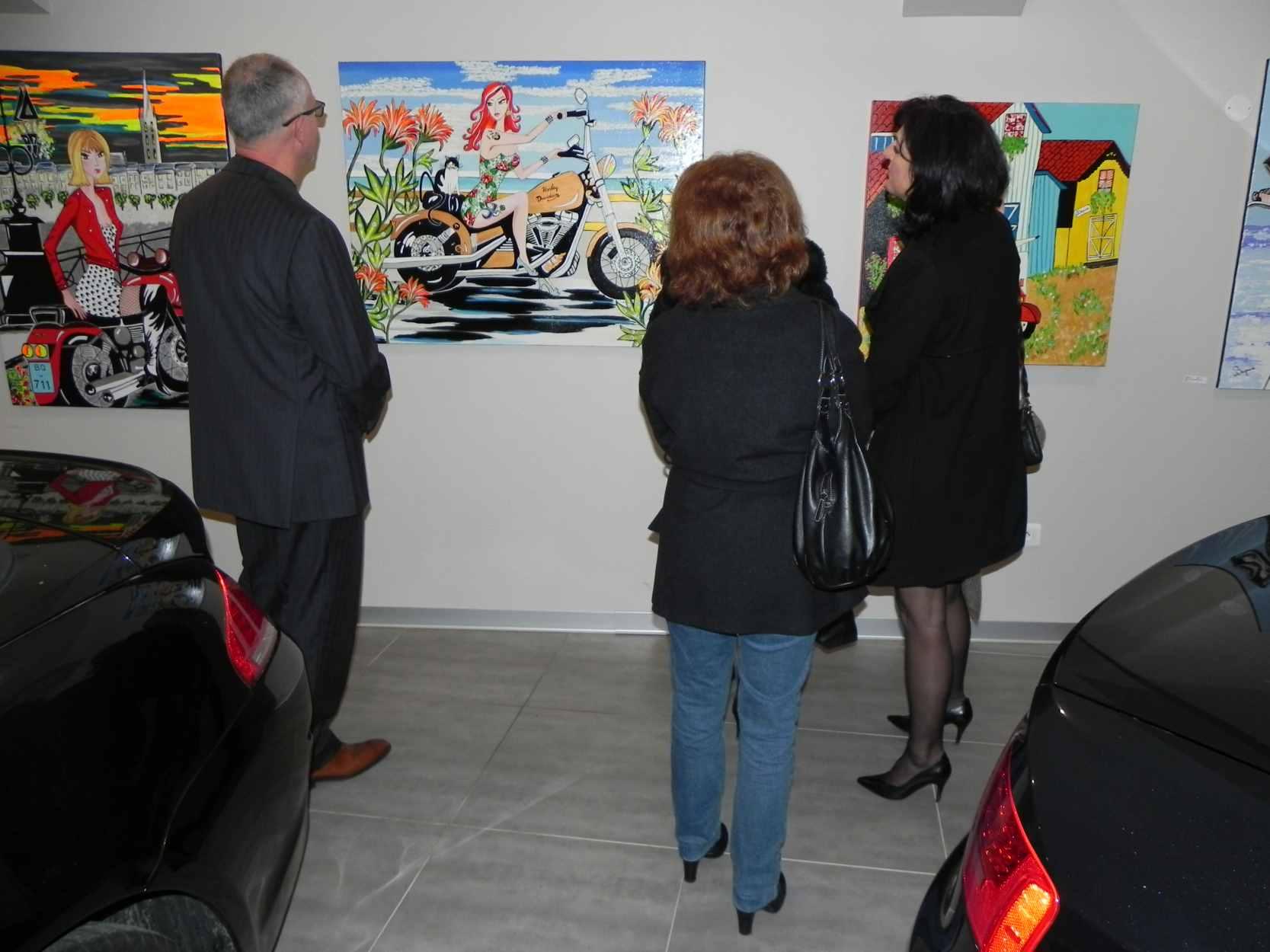 Exposition à Gradignan