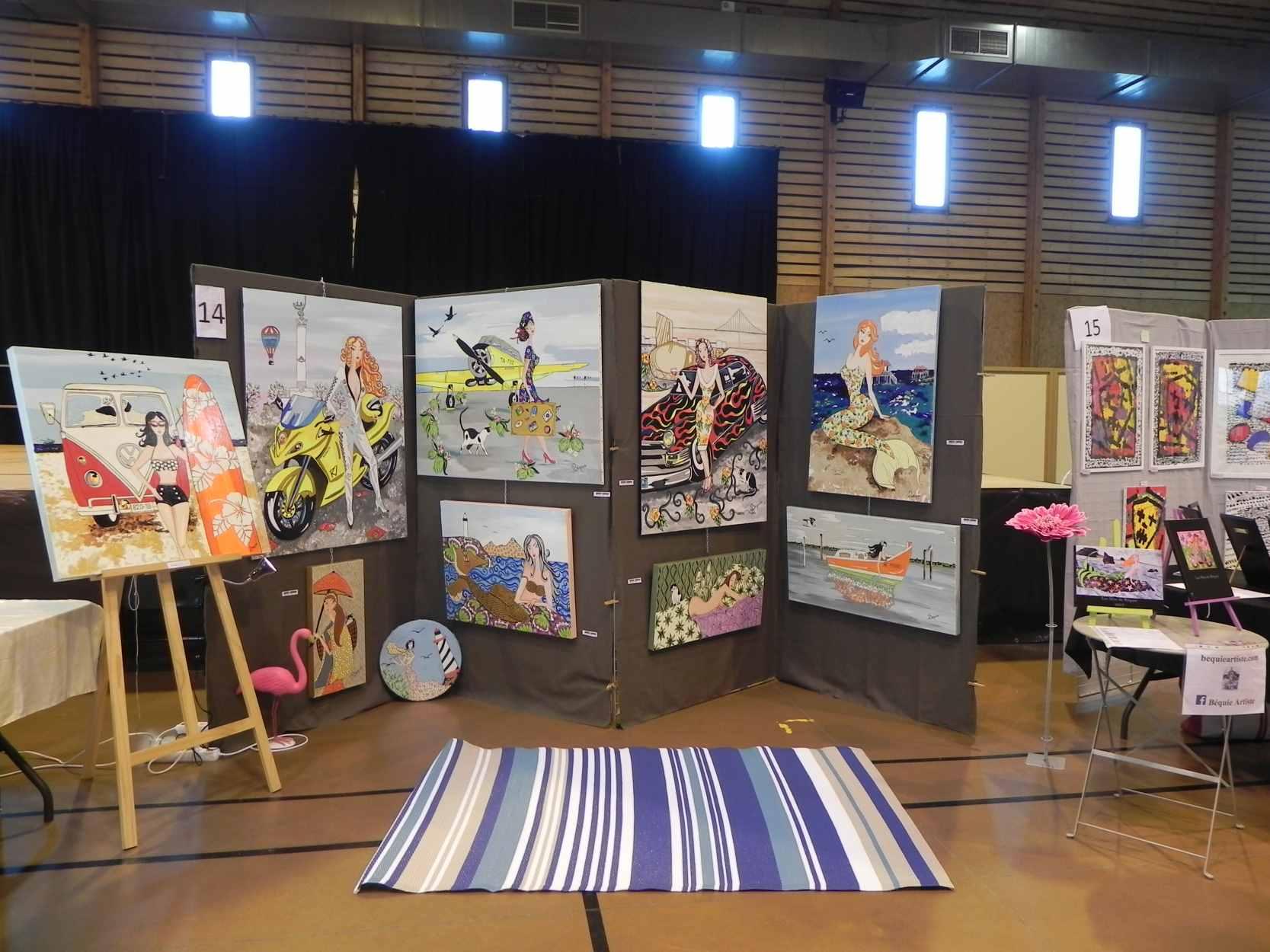 Exposition à Léognan