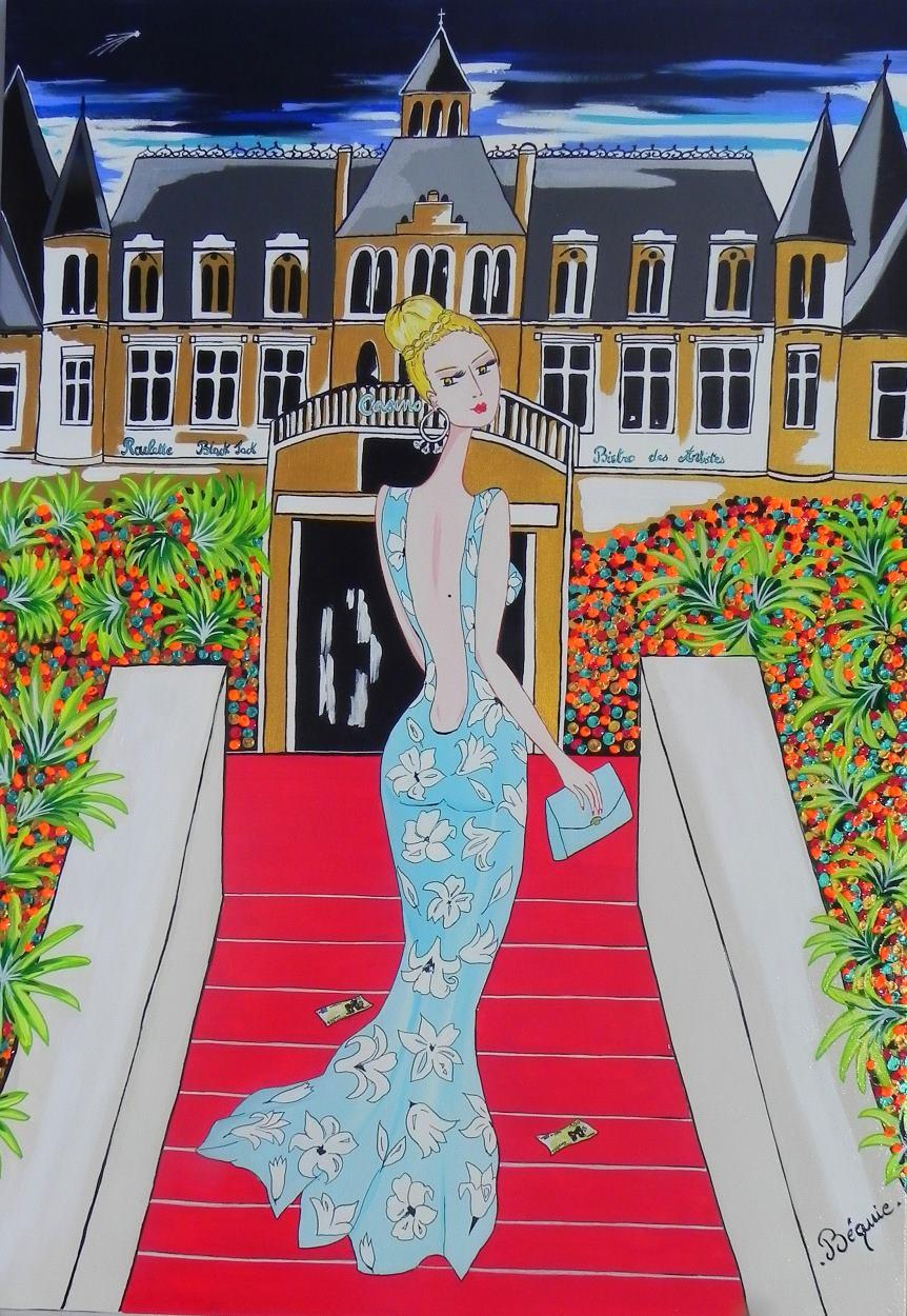 Miss TAMARA au Casino d'Arcachon