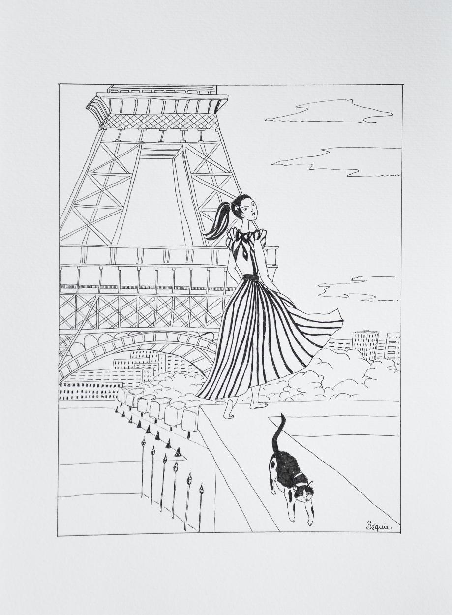 Doris, Le Plus Beau Chat Du Monde Et Béquie